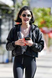 Lucy Hale - Spotted while out in Los Angeles
