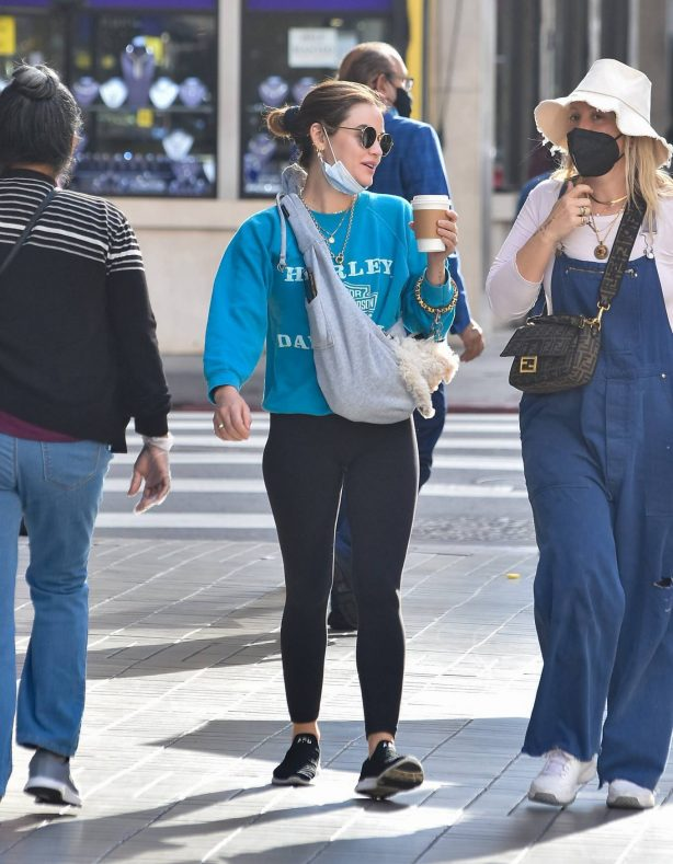 Lucy Hale - Steps out in Los Angeles