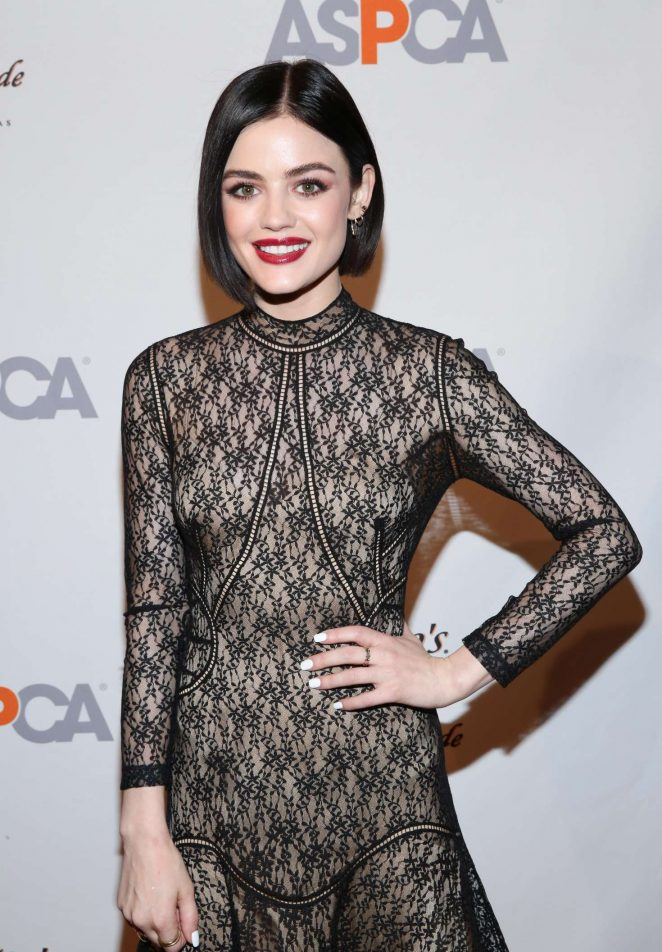 Lucy Hale - The ASPCA 20th Annual Bergh Ball in New York City