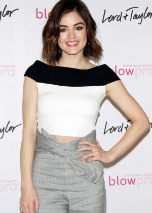 Lucy Hale - The Blowpro Launch in New York City