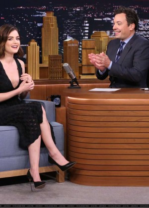 Lucy Hale: The Tonight Show With Jimmy Fallon -02