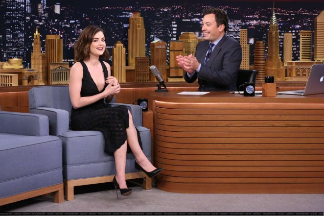 Lucy Hale 2016 : Lucy Hale: The Tonight Show With Jimmy Fallon -02