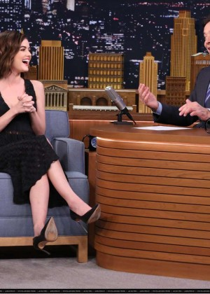 Lucy Hale: The Tonight Show With Jimmy Fallon -05