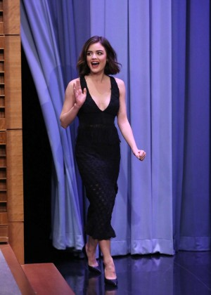 Lucy Hale: The Tonight Show With Jimmy Fallon -09