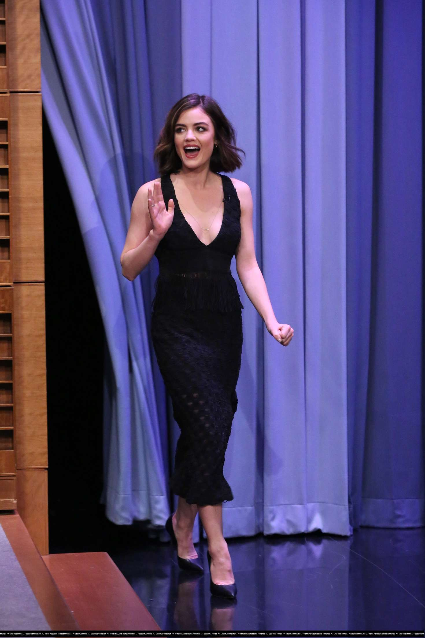 Lucy Hale 2016 : Lucy Hale: The Tonight Show With Jimmy Fallon -09