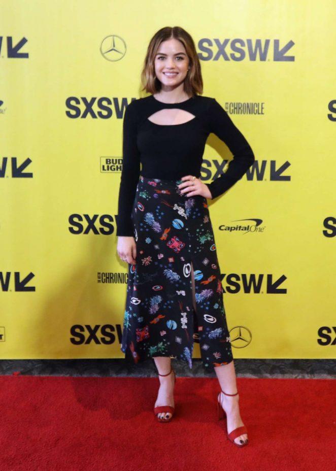Lucy Hale – 'The Unicorn' Premiere at 2018 SXSW Festival in Austin