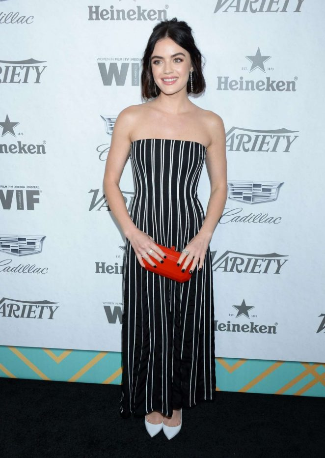 Lucy Hale – Variety and Women in Film Pre-Emmy Party in LA