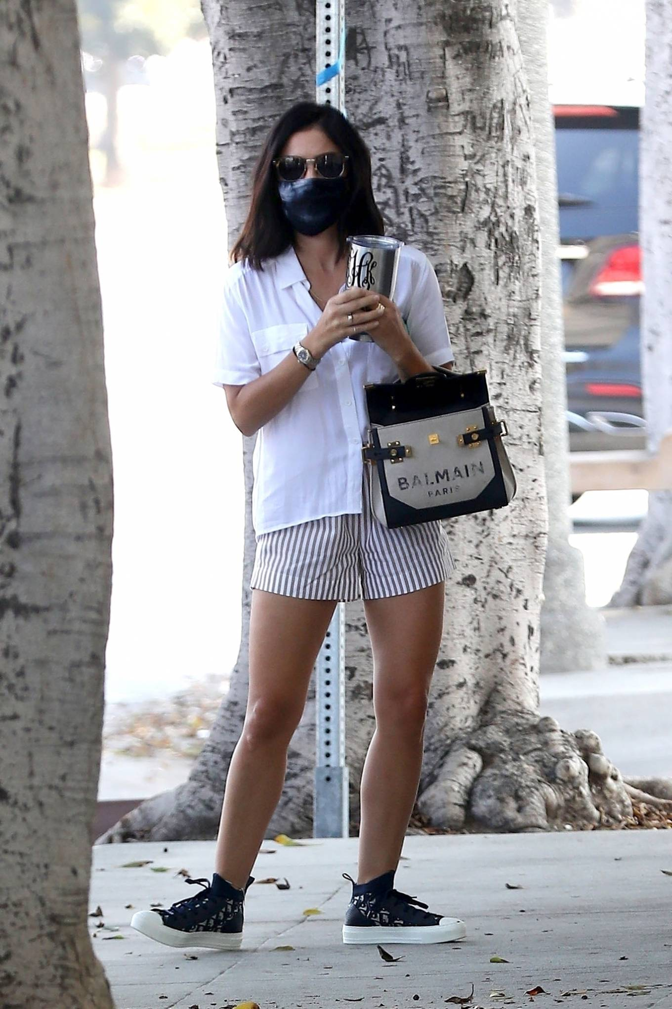 Lucy Hale - Visit to the Doctor's office in Los Angeles