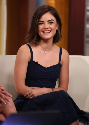Lucy Hale - Visits Fox & Friends in NY
