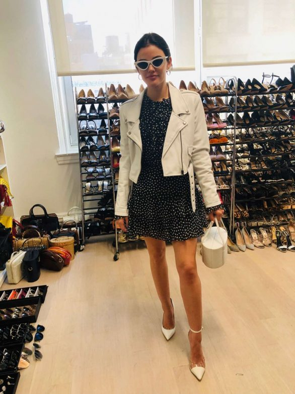 Lucy Hale - Vogue's 'Inside Lucy Hale's Non-Stop Front Row Experience' (September 2019)