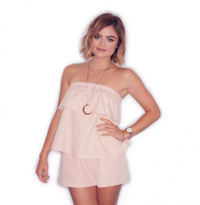 Lucy Hale - 'We Love Disney' Promo Summer 2015