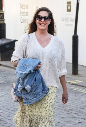 Lucy Horobin - at the Global Radio Studios in London