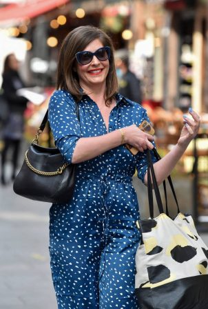 Lucy Horobin - Seen after the Heart Radio breakfast show in London