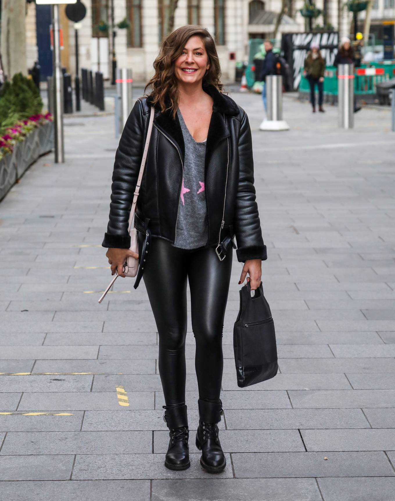 Lucy Horobin - Seen at a Global Radio Studios in London