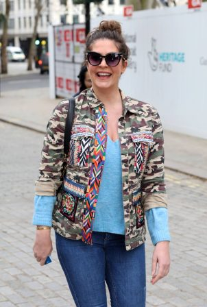 Lucy Horobin - Seen at the Global Radio Studios in London