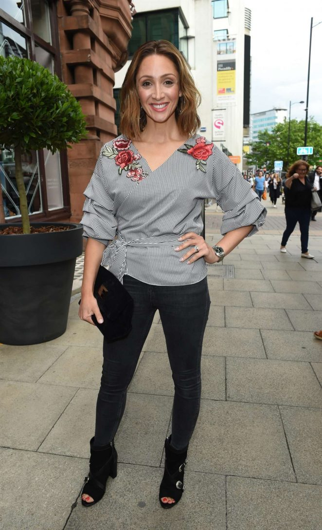 Lucy Jo Hudson - Brasserie Abode Launch in Manchester