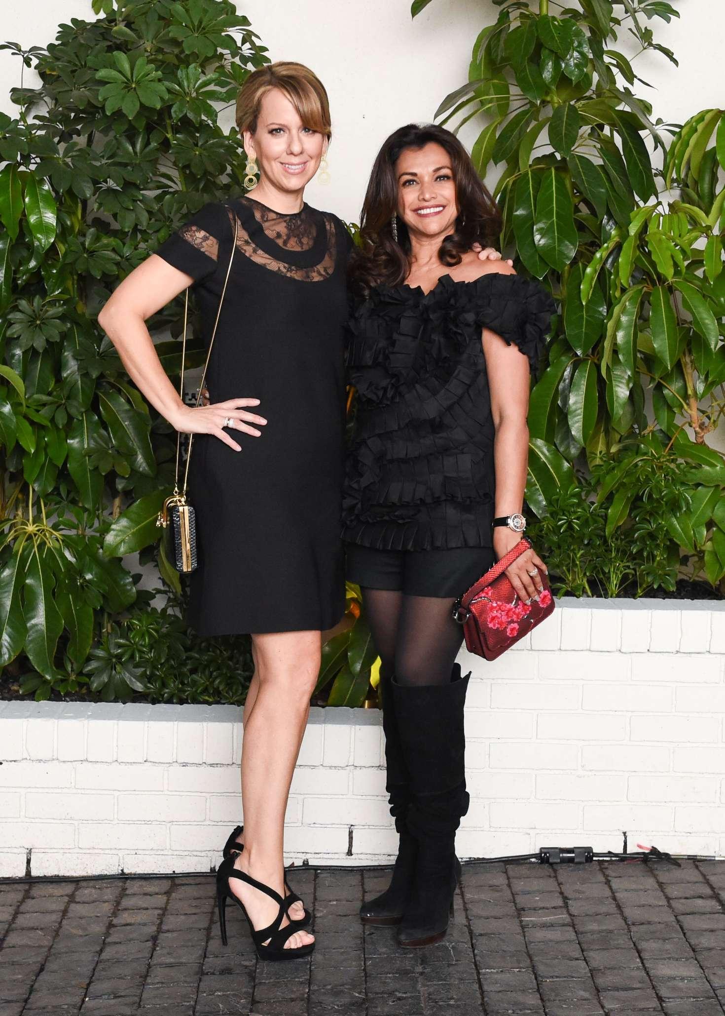 Lucy Kriz and Deborah Sawaf - W Magazine Celebrates Best Performances Portfolio & Golden Globes in LA