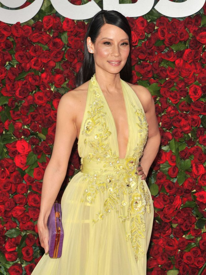 Lucy Liu - 2016 Tony Awards in New York