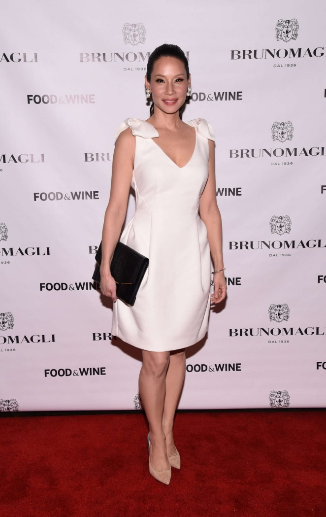 Lucy Liu - Bruno Magli Presents A Taste Of Italy Co-Hosted By Food & Wine & Scott Conant in NYC