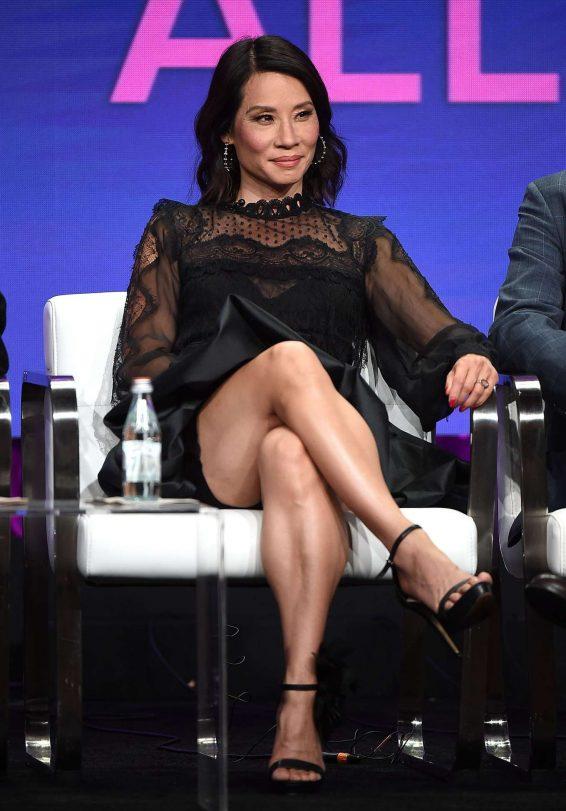 Lucy Liu - CBS All Access 'Why Women Kill' Panel at 2019 TCA Summer Press Tour in LA