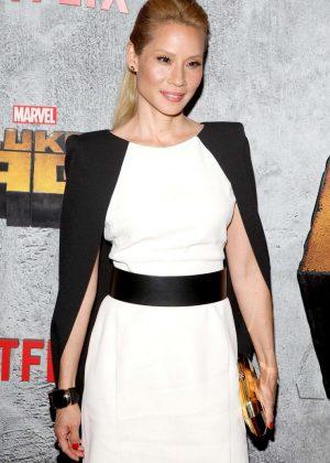 Lucy Liu - 'Luke Cage' TV Series Premiere in New York