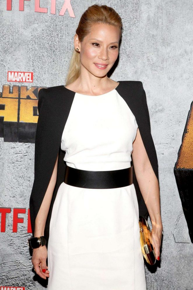 Lucy Liu – 'Luke Cage' TV Series Premiere in New York