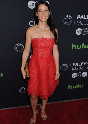 Lucy Liu - PaleyFest: Made in New York Presents 'Elementary' Cast in NYC