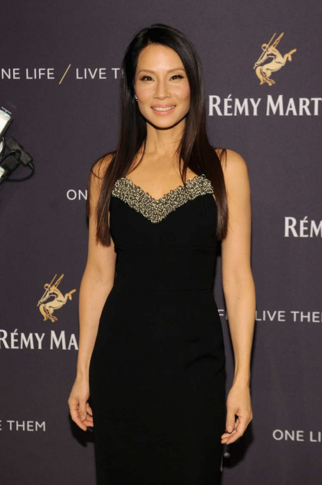 Lucy Liu - Remy Martin and Jeremy Renner Present One Life/Live Them in NYC