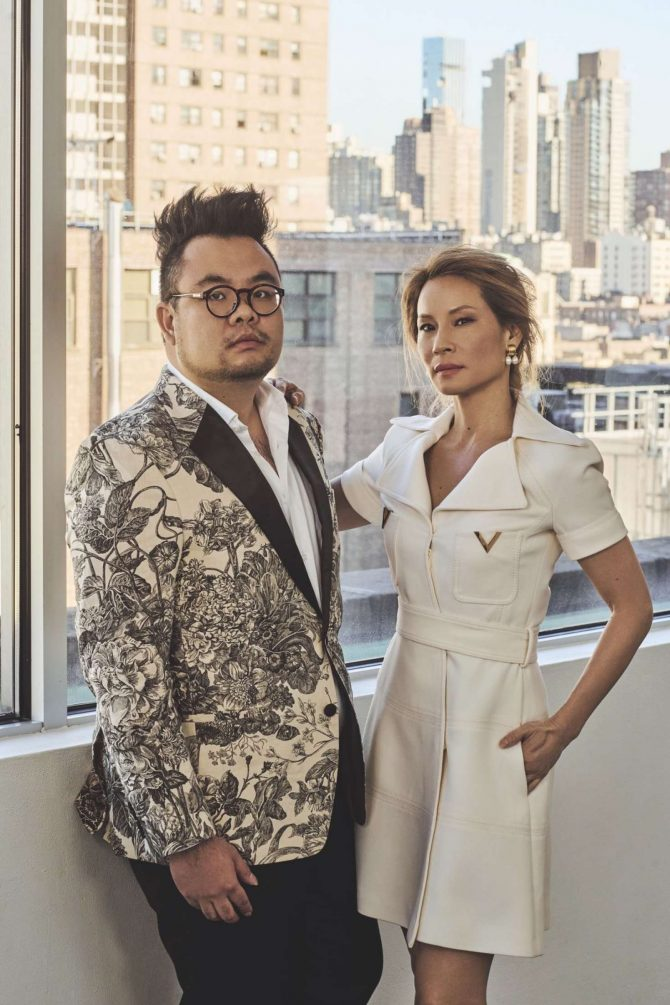 Lucy Liu & Ryan Su - Prestige Singapore Magazine (January 2019)