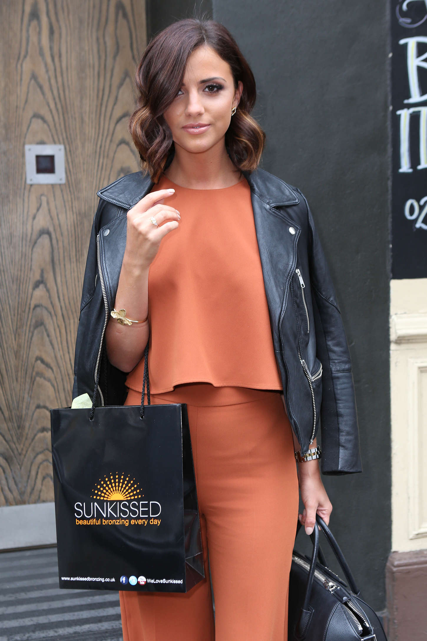 Lucy Mecklenburg - Leaving Century After Promoting SunKissed Tanning in London