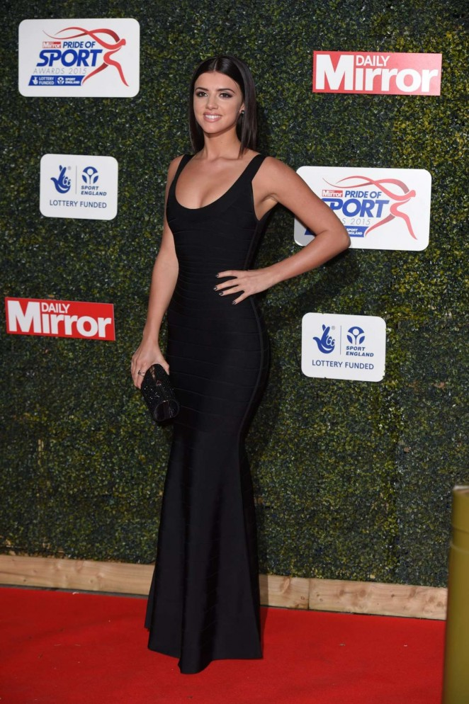 Lucy Mecklenburgh - 2015 Daily Mirror Pride of Sport Awards in London