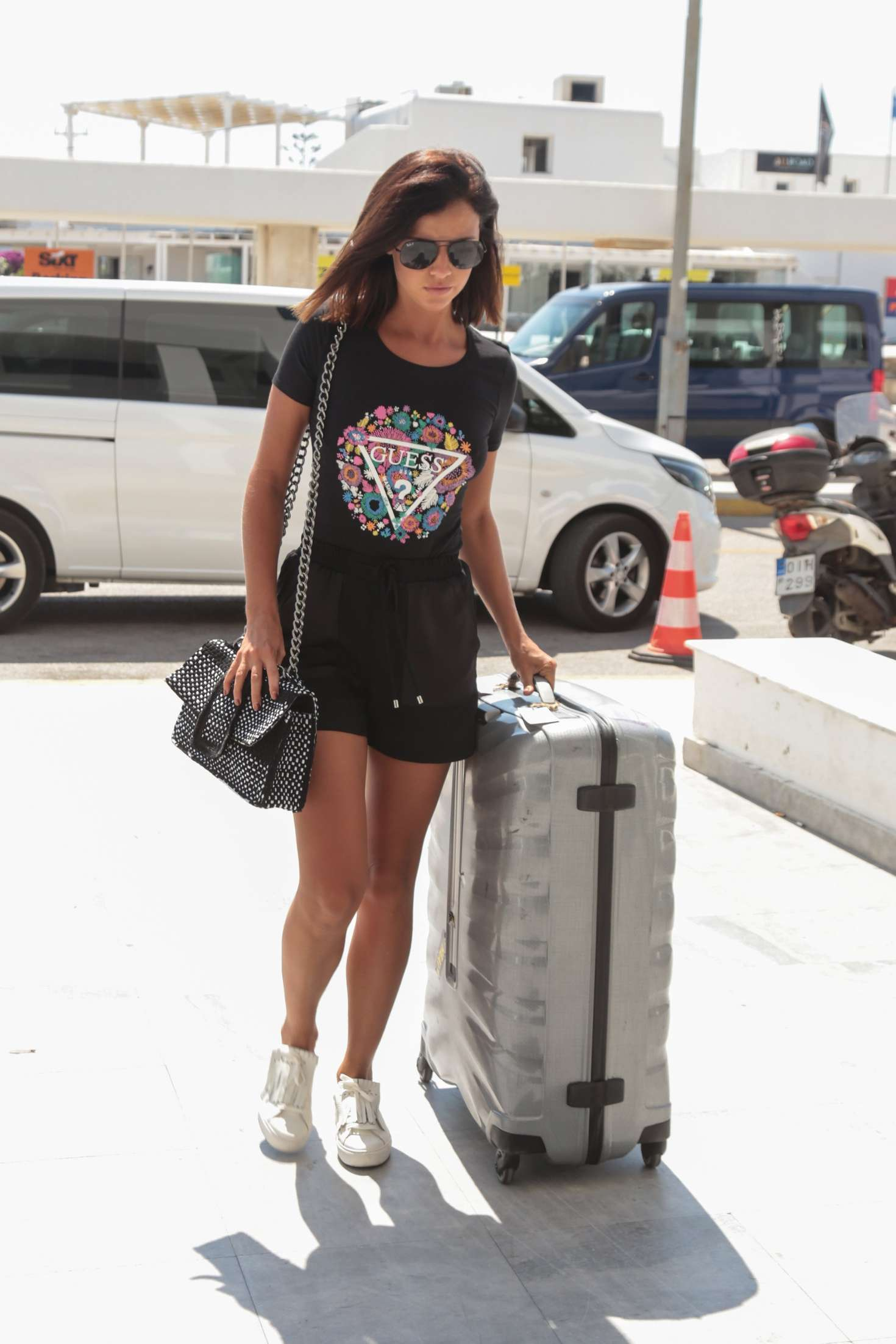 Lucy Mecklenburgh 2017 : Lucy Mecklenburgh in Shorts -11