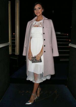 Lucy Mecklenburgh - Arrives at Rami al Ali Dinner in Paris