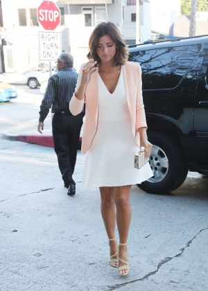Lucy Mecklenburgh - Arrives at The Chateau Marmont in LA