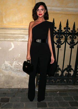 Lucy Mecklenburgh - Arriving at Gun Pei Fashion Show 2018 in Paris