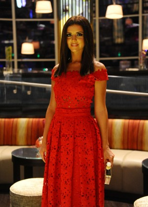 Lucy Mecklenburgh at Fashion Forward in Dubai