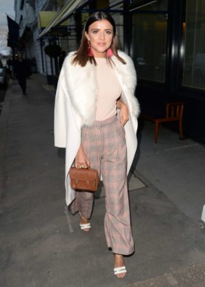 Lucy Mecklenburgh at Isabel Mayfair in London