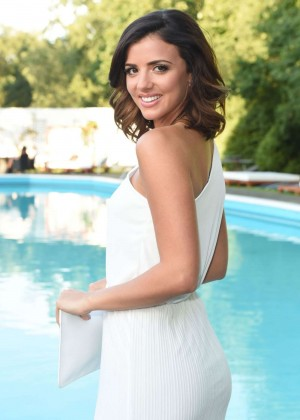 Lucy Mecklenburgh - Boob Ball in aid of Coppafeel Breast Cancer charity in Essex