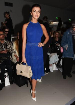 Lucy Mecklenburgh - Bora Aksu Fashion Show 2015 in London
