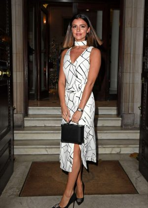 Lucy Mecklenburgh - Boux Avenue AW16 Campaign Launch in London