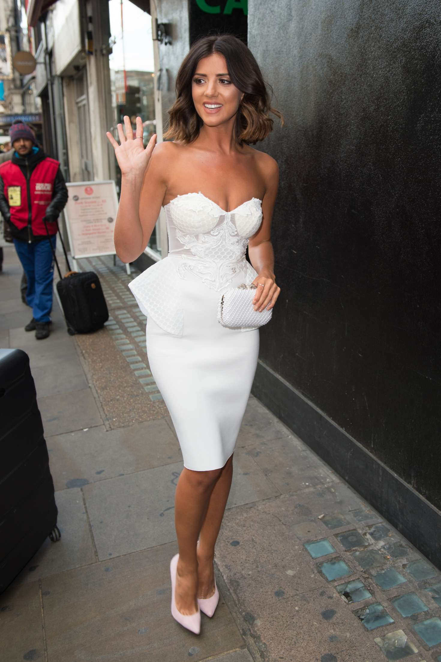 Lucy Mecklenburgh 2017 : Lucy Mecklenburgh: Boux Avenue Spring Summer 2017 Launch -01