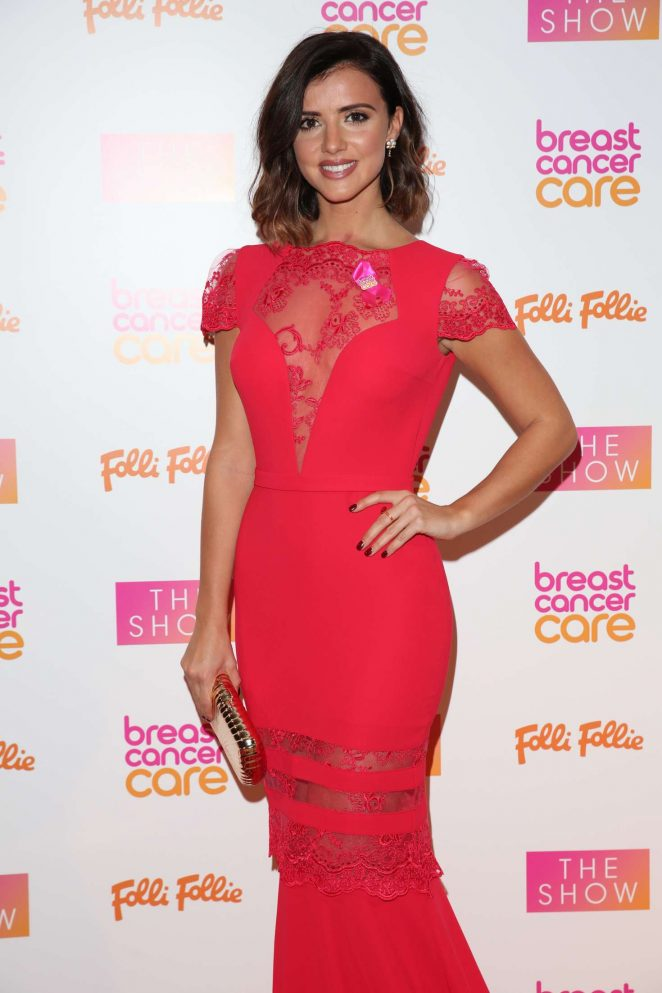 Lucy Mecklenburgh - Breast Cancer Care Show 2016 in London