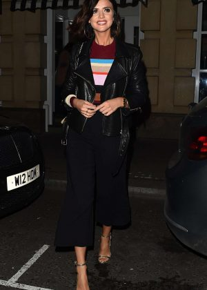 Lucy Mecklenburgh - 'By Chloe' Restaurant Launch Party in London