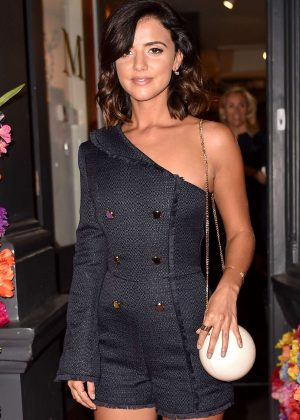 Lucy Mecklenburgh - Danny Minnick 'One Love' Exhibition in London