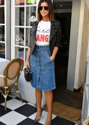 Lucy Mecklenburgh - egaliTEE Launch in London