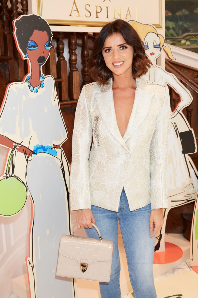 Lucy Mecklenburgh - Giles x Aspinal Fashion Show in London