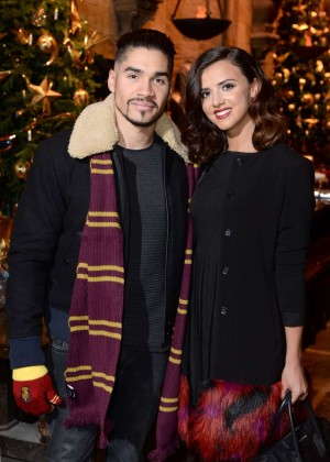 Lucy Mecklenburgh - Hogwarts in The Snow Launch in Watford