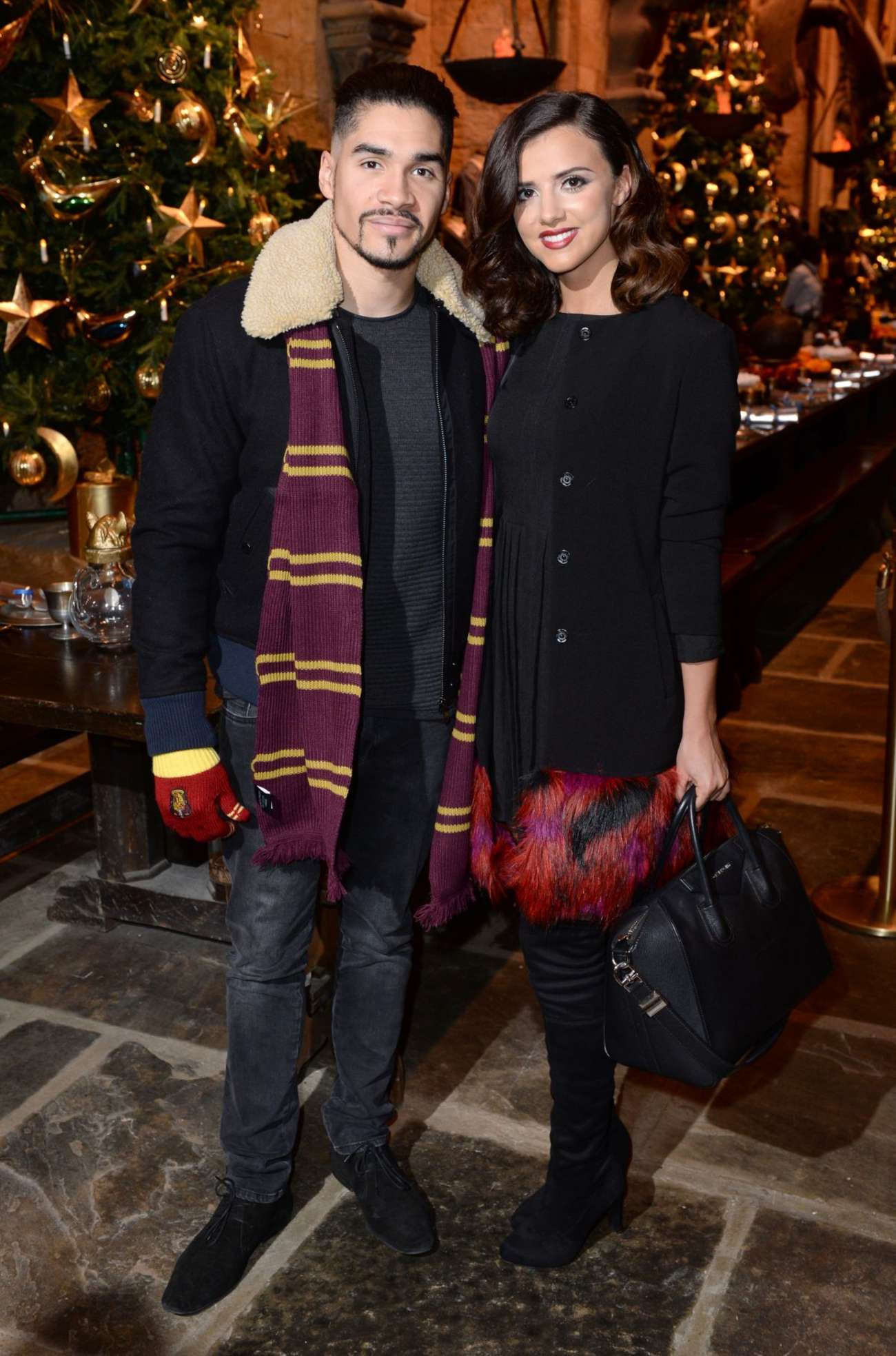 Lucy Mecklenburgh 2015 : Lucy Mecklenburgh: Hogwarts in The Snow Launch -03