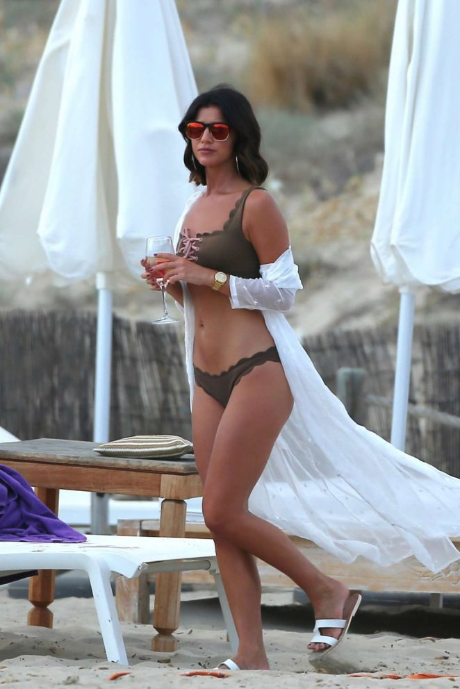 Lucy Mecklenburgh - In Bikini in Ibiza