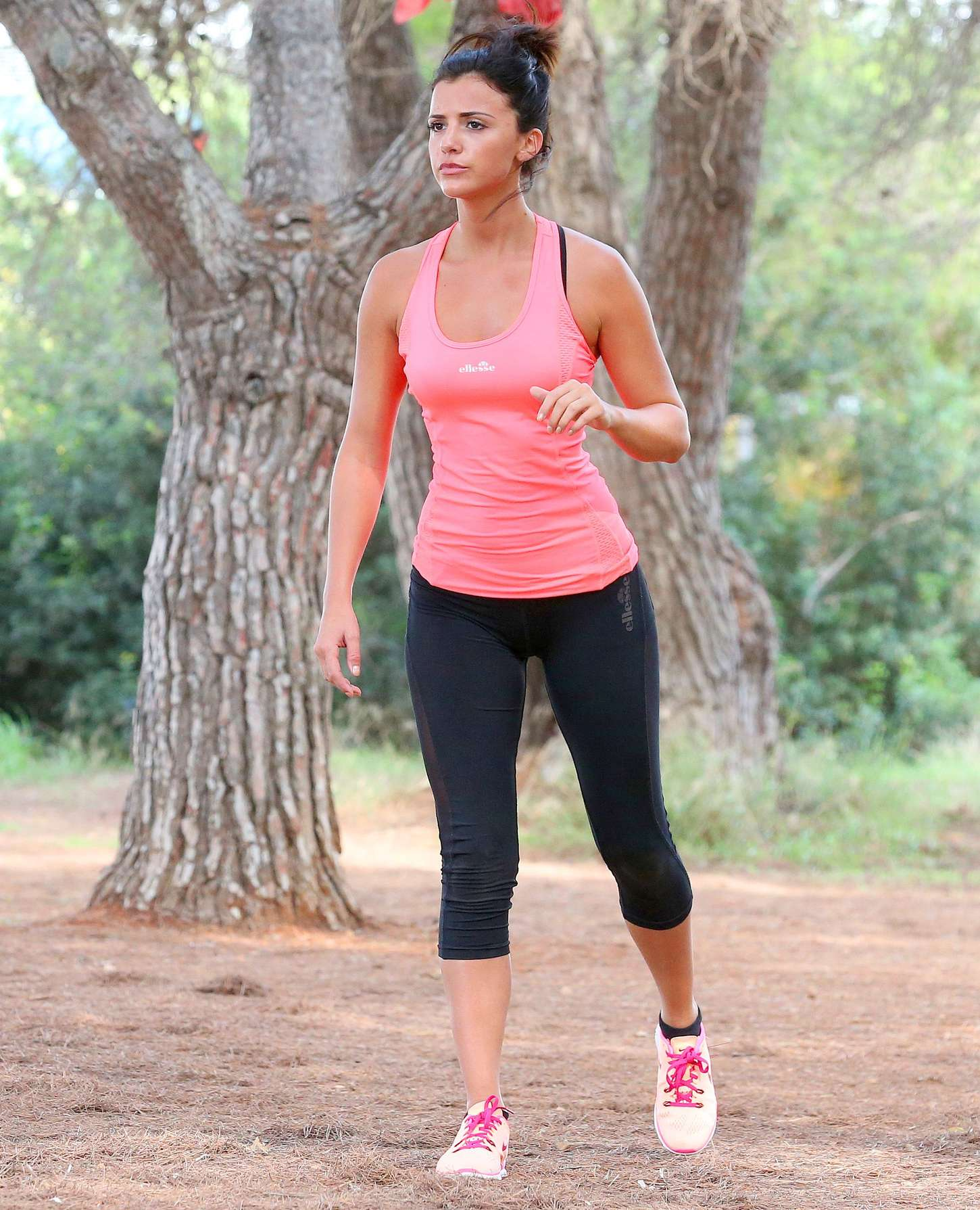 Lucy Mecklenburgh 2015 : Lucy Mecklenburgh in Tights Workout -08